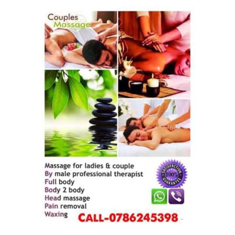 Massage for ladies and couples