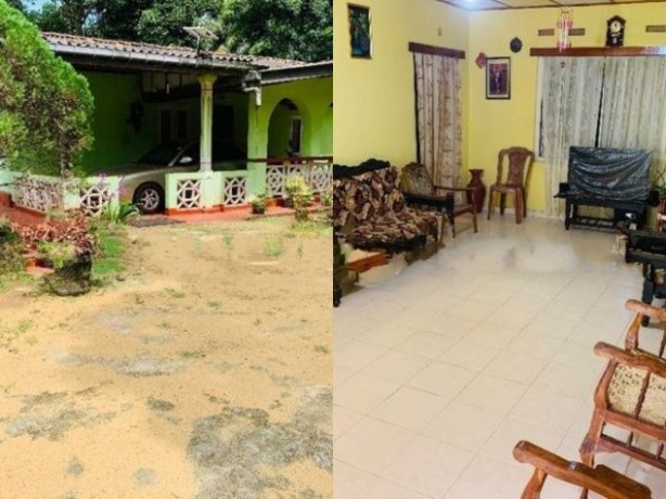 Big Land With House For Sale In Kaluthara